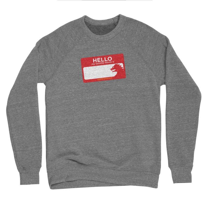 TFH Name Tag Men's Sponge Fleece Sweatshirt by TRAILERS FROM HELL