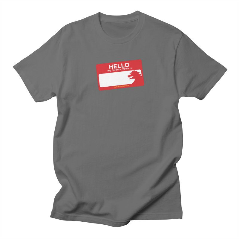 TFH Name Tag Men's T-Shirt by TRAILERS FROM HELL