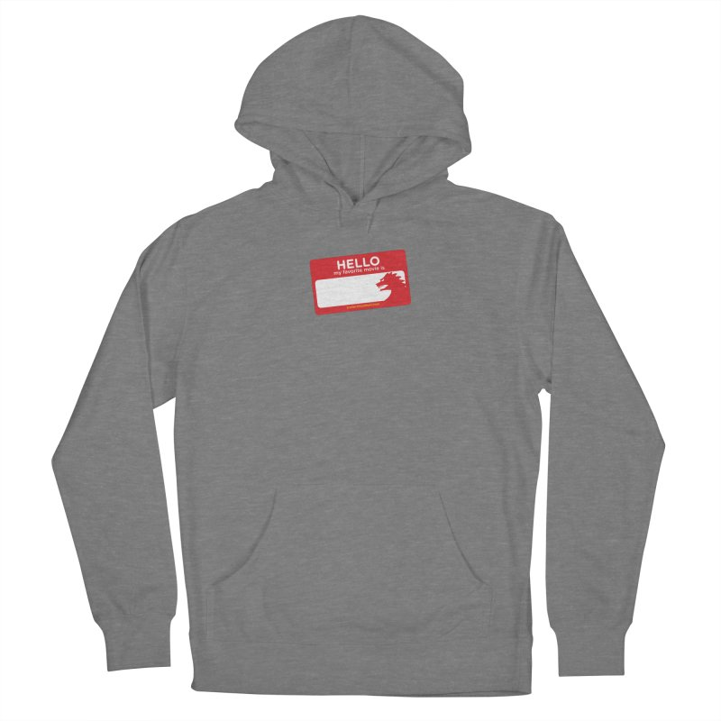 TFH Name Tag Women's Pullover Hoody by TRAILERS FROM HELL
