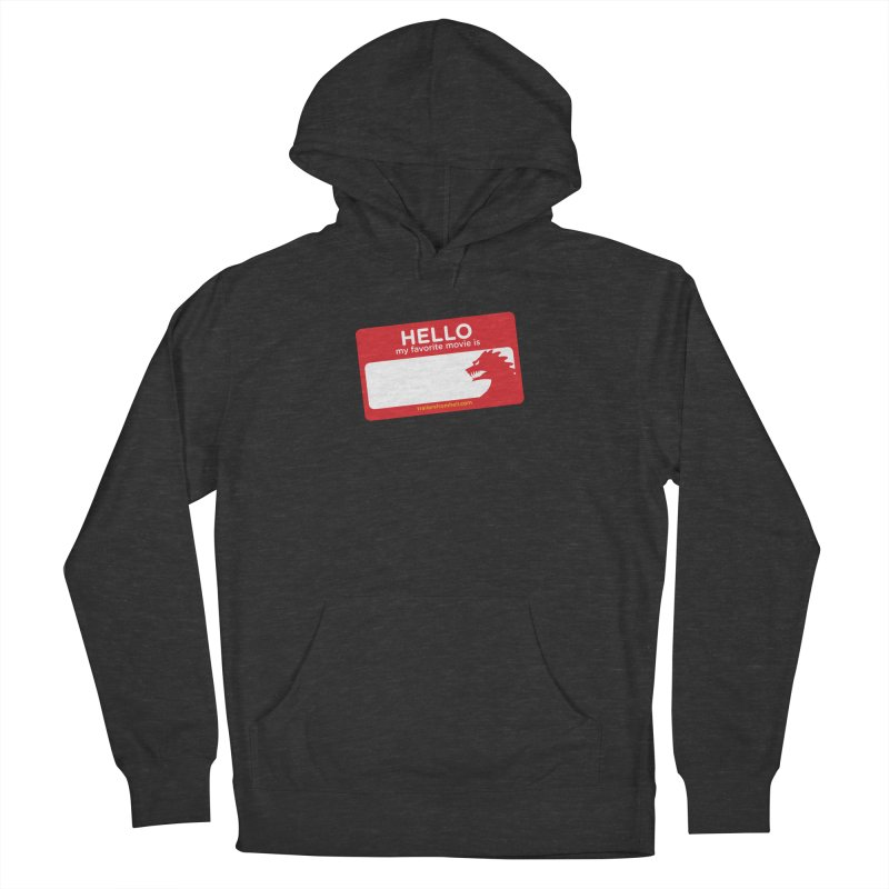 TFH Name Tag Men's French Terry Pullover Hoody by TRAILERS FROM HELL