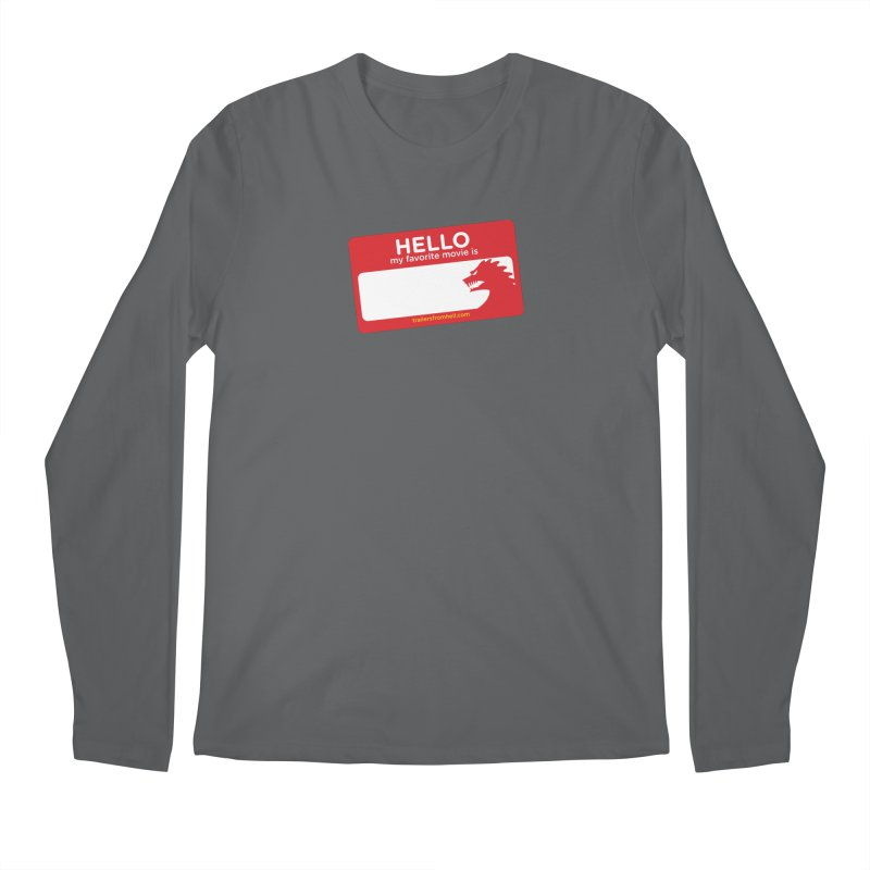 TFH Name Tag Men's Longsleeve T-Shirt by TRAILERS FROM HELL