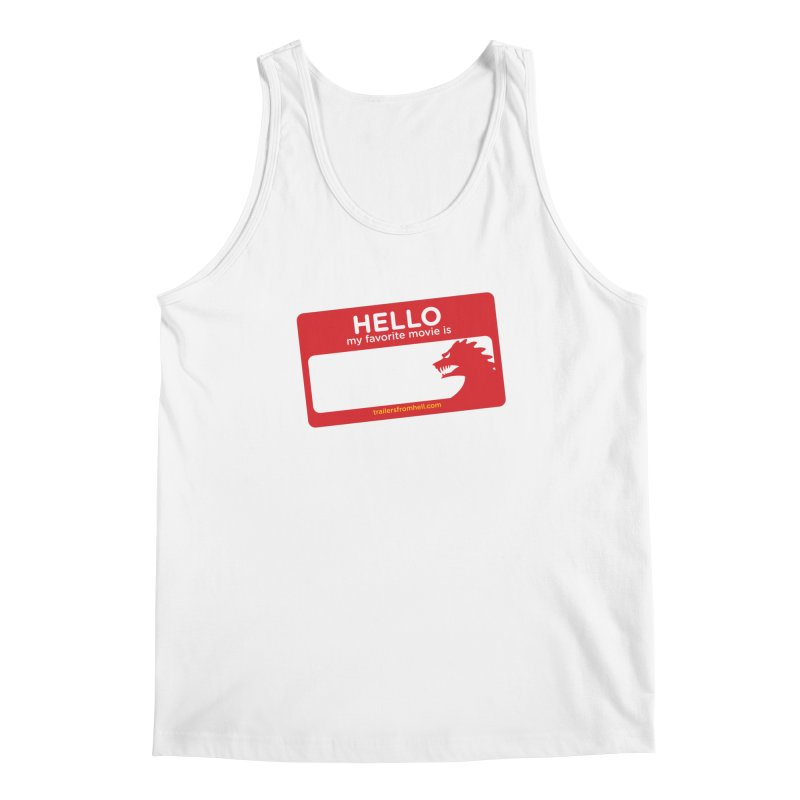 TFH Name Tag Men's Tank by TRAILERS FROM HELL