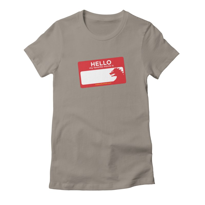 TFH Name Tag Women's T-Shirt by TRAILERS FROM HELL