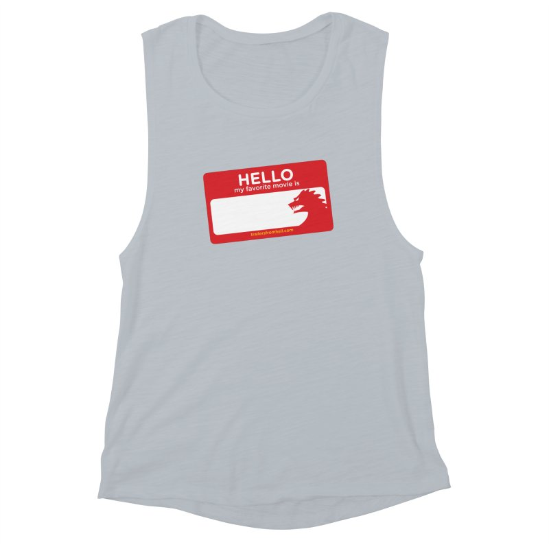 TFH Name Tag Women's Muscle Tank by TRAILERS FROM HELL