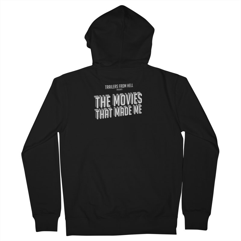 The Movies That Made Me - Classic Logo Men's French Terry Zip-Up Hoody by TRAILERS FROM HELL