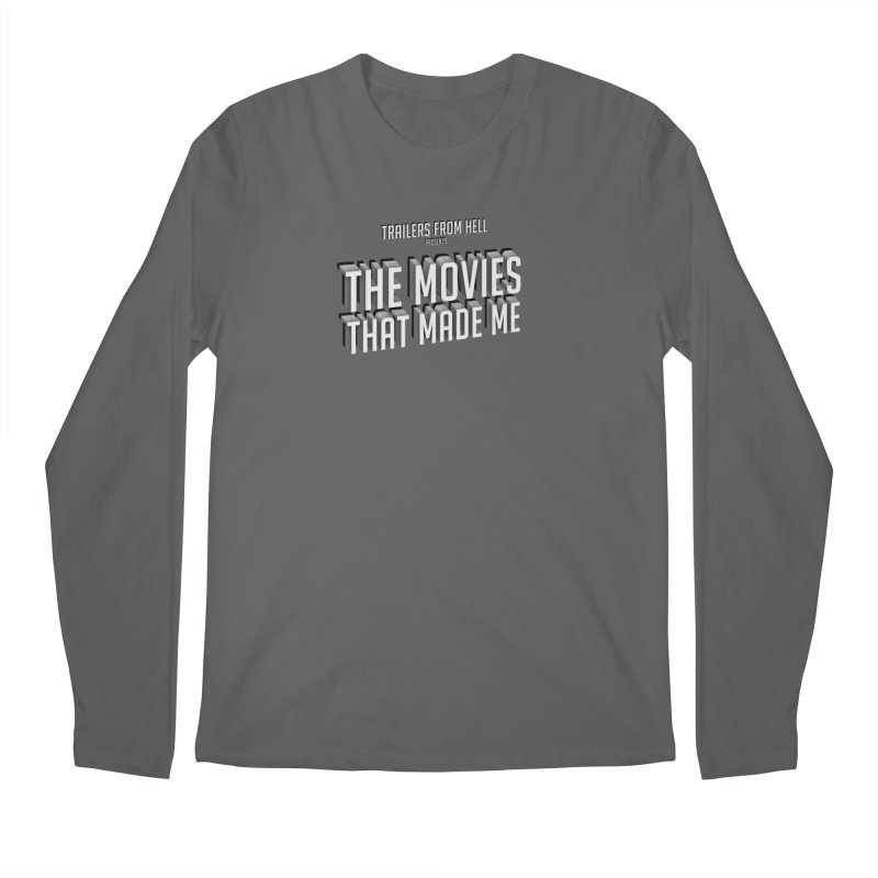 The Movies That Made Me - Classic Logo Men's Longsleeve T-Shirt by TRAILERS FROM HELL