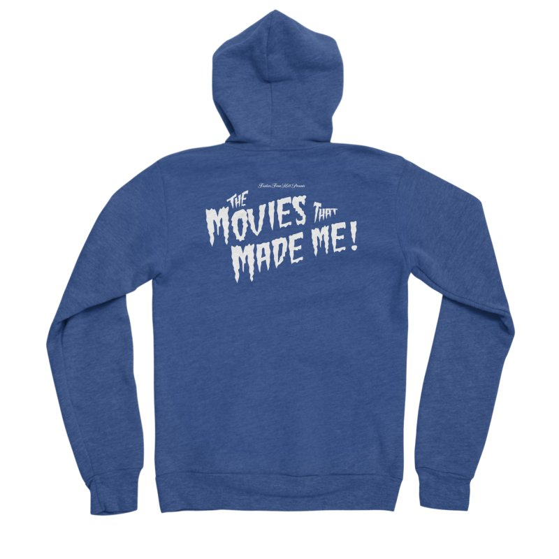 The Movies That Made Me - Monsterpalooza Logo Men's Sponge Fleece Zip-Up Hoody by TRAILERS FROM HELL