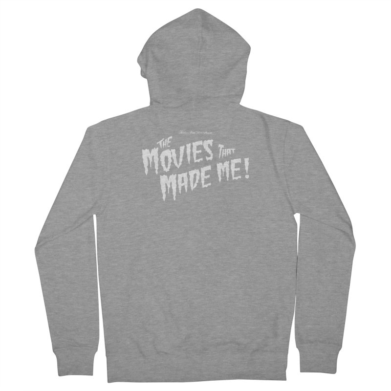 The Movies That Made Me - Monsterpalooza Logo Women's French Terry Zip-Up Hoody by TRAILERS FROM HELL