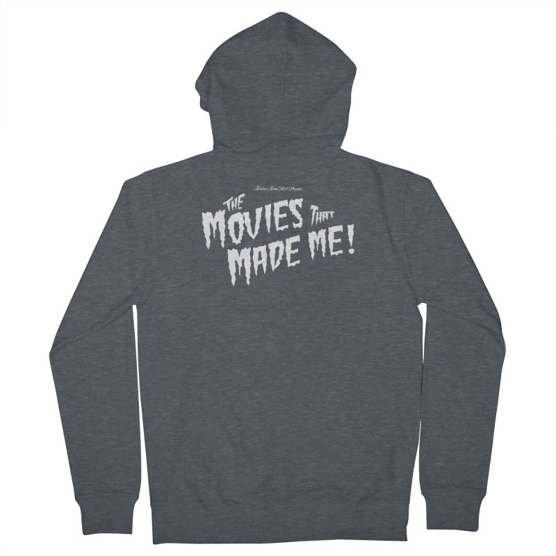 The Movies That Made Me - Monsterpalooza Logo Men's French Terry Zip-Up Hoody by TRAILERS FROM HELL