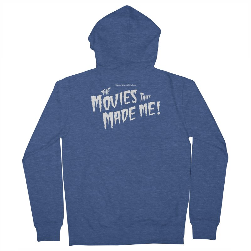 The Movies That Made Me - Monsterpalooza Logo Men's Zip-Up Hoody by TRAILERS FROM HELL