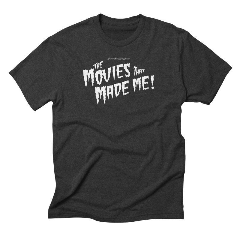 The Movies That Made Me - Monsterpalooza Logo Men's Triblend T-Shirt by TRAILERS FROM HELL