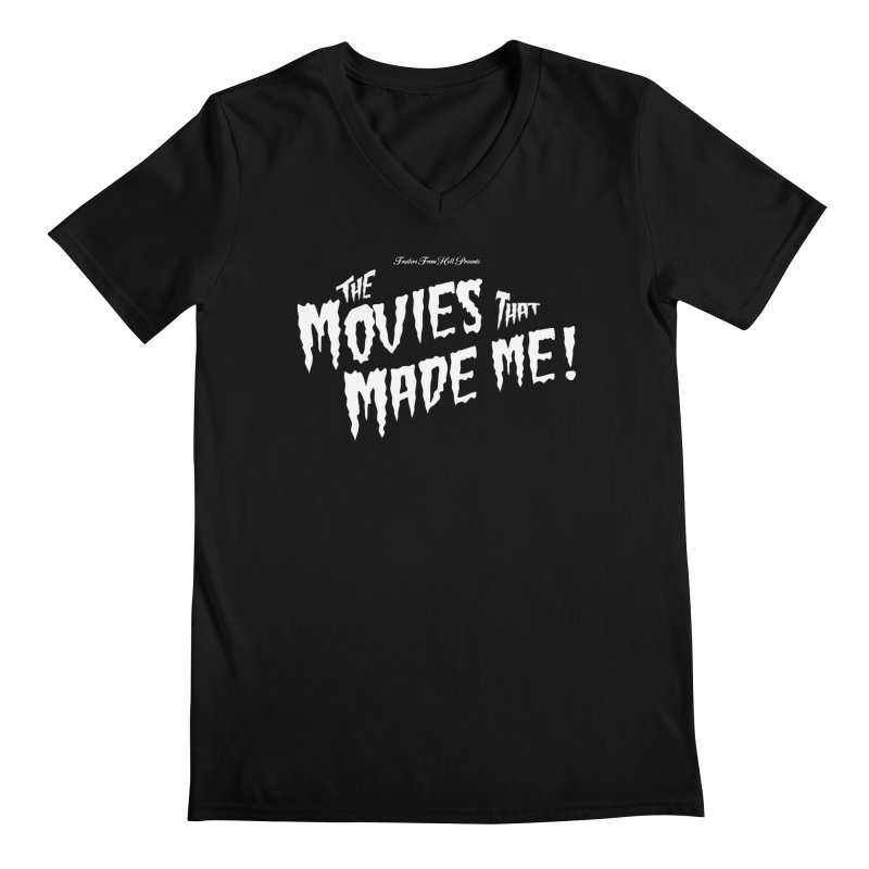 The Movies That Made Me - Monsterpalooza Logo Men's Regular V-Neck by TRAILERS FROM HELL