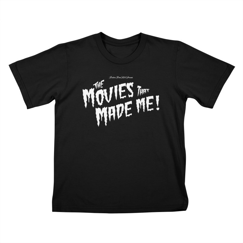 The Movies That Made Me - Monsterpalooza Logo Kids T-Shirt by TRAILERS FROM HELL