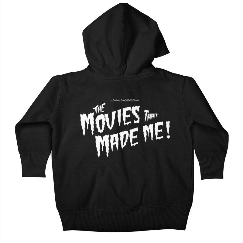 The Movies That Made Me - Monsterpalooza Logo Kids Baby Zip-Up Hoody by TRAILERS FROM HELL