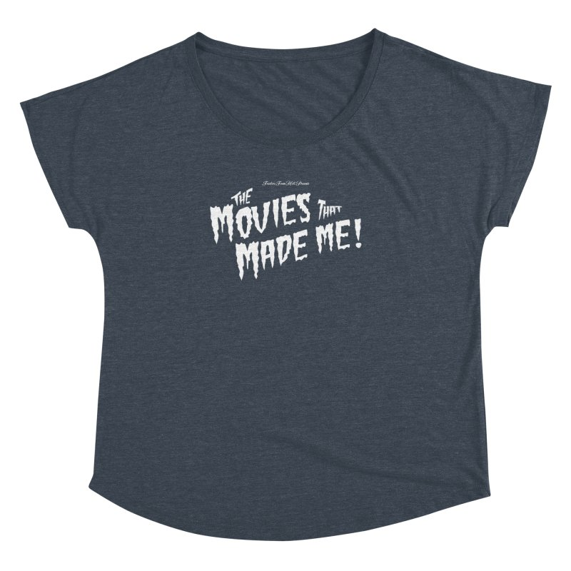The Movies That Made Me - Monsterpalooza Logo Women's Dolman Scoop Neck by TRAILERS FROM HELL