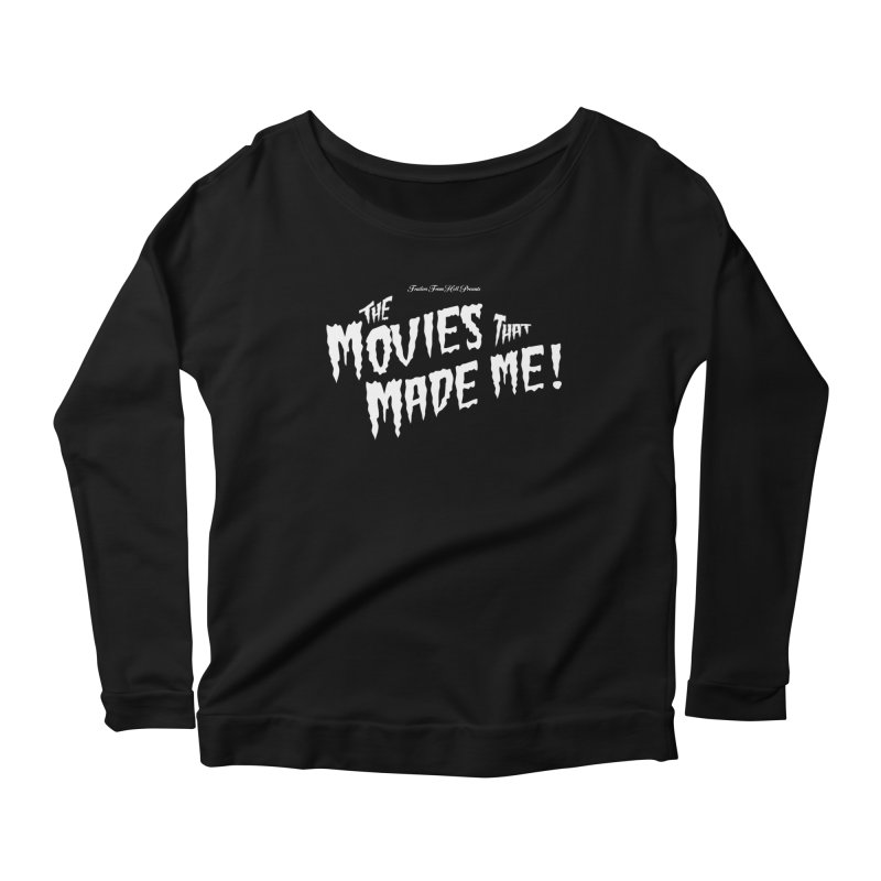 The Movies That Made Me - Monsterpalooza Logo Women's Scoop Neck Longsleeve T-Shirt by TRAILERS FROM HELL