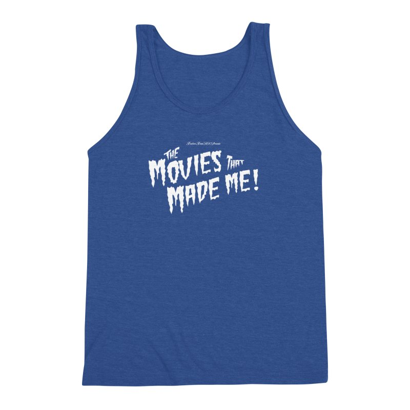 The Movies That Made Me - Monsterpalooza Logo Men's Triblend Tank by TRAILERS FROM HELL