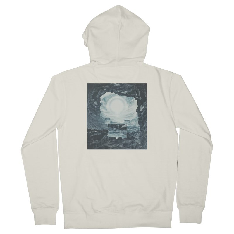 The Unordinary Place Men's French Terry Zip-Up Hoody by Tralilulelo