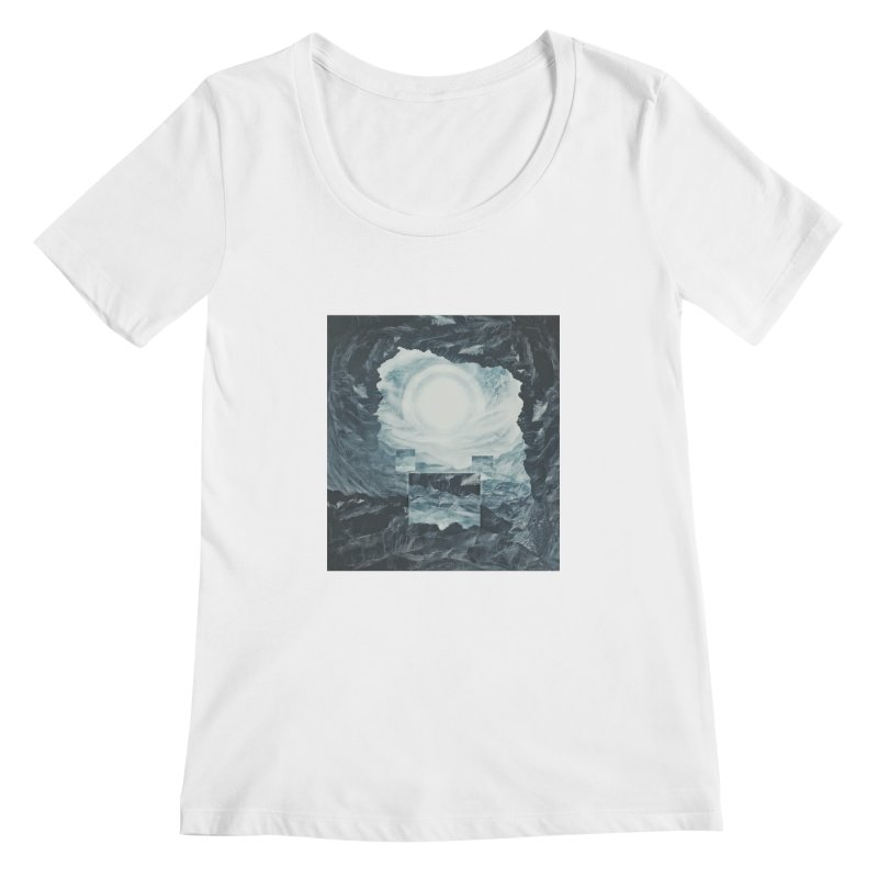 The Unordinary Place Women's Scoopneck by Tralilulelo