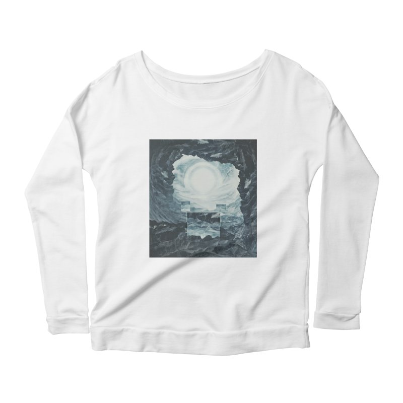 The Unordinary Place Women's Longsleeve Scoopneck  by Tralilulelo