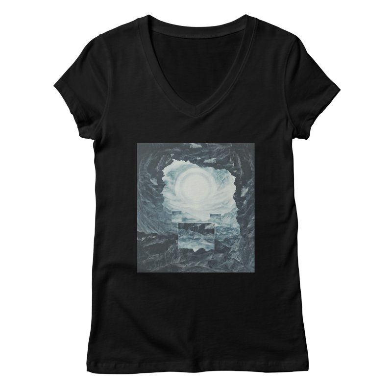 The Unordinary Place Women's Regular V-Neck by Tralilulelo