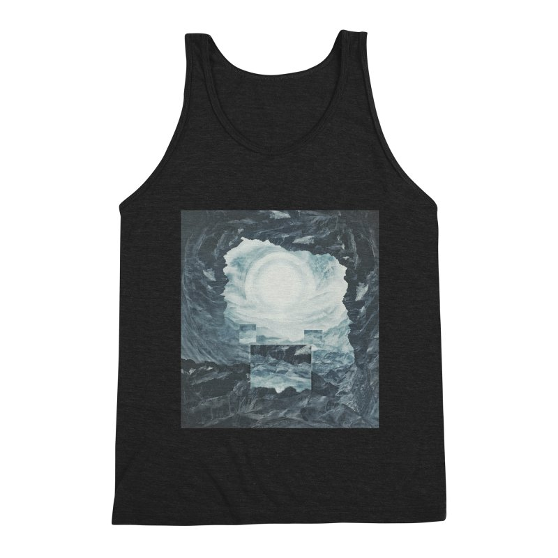 The Unordinary Place Men's Triblend Tank by Tralilulelo