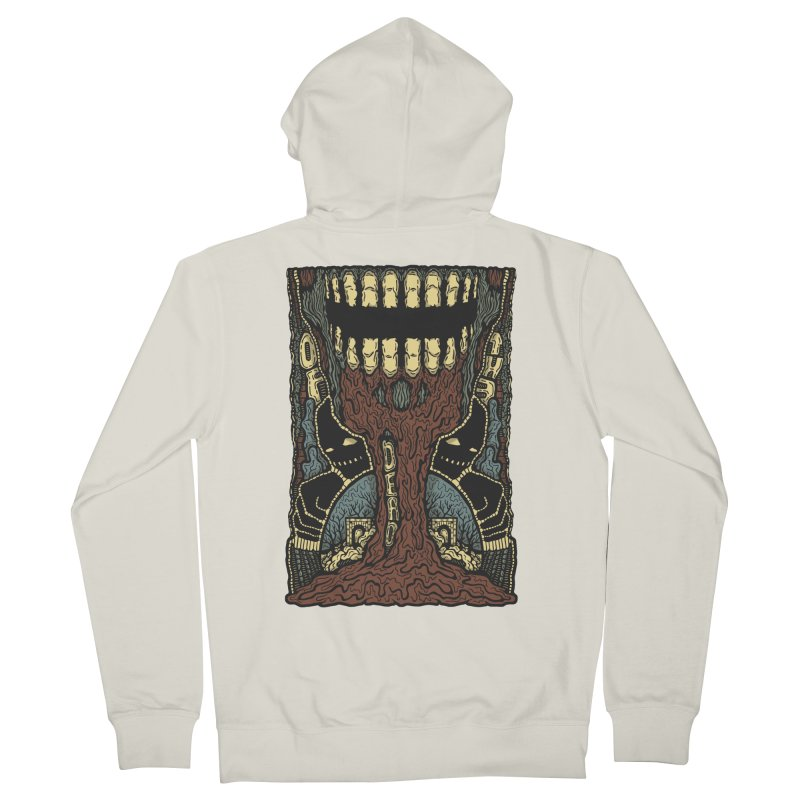 Of The Dead Men's French Terry Zip-Up Hoody by Tralilulelo