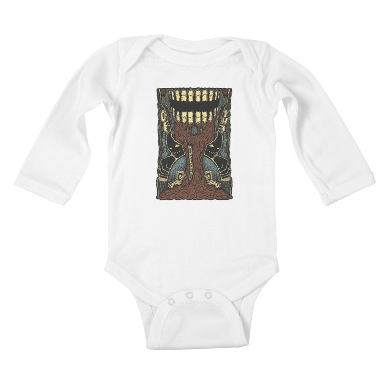 Of The Dead Kids Baby Longsleeve Bodysuit by Tralilulelo