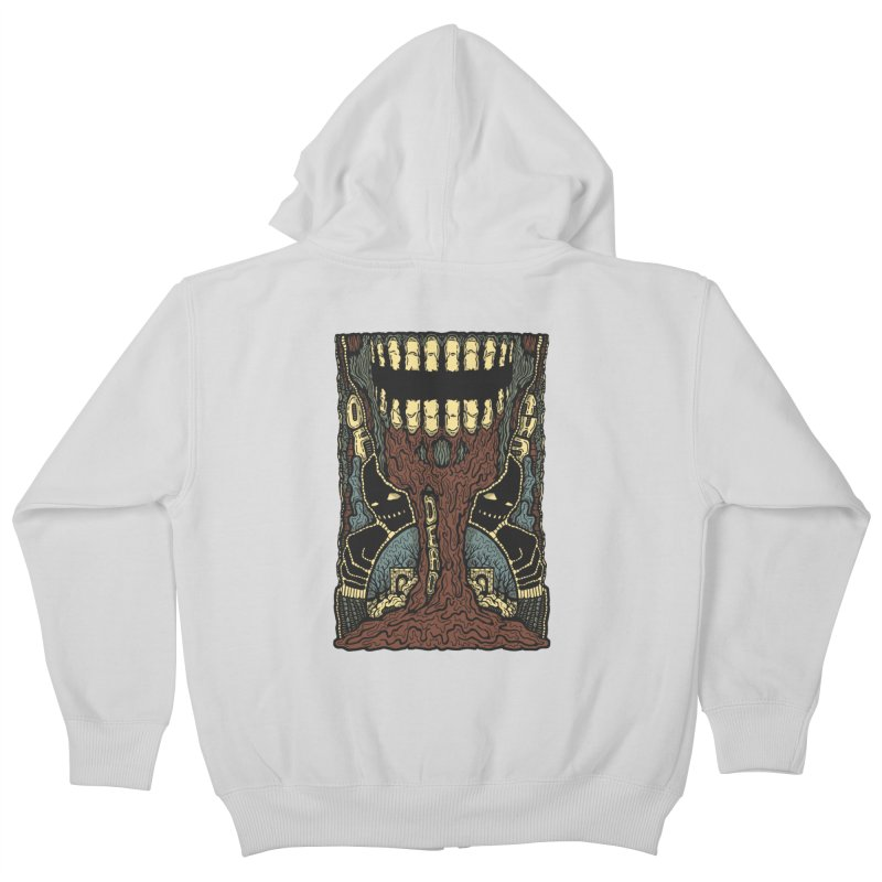 Of The Dead Kids Zip-Up Hoody by Tralilulelo