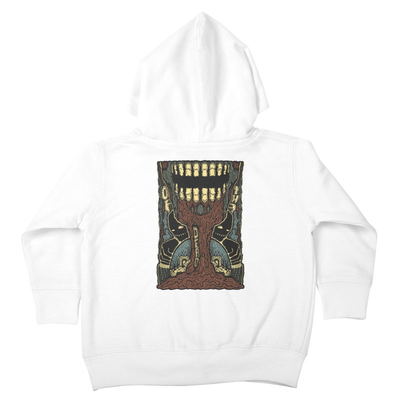 Of The Dead Kids Toddler Zip-Up Hoody by Tralilulelo