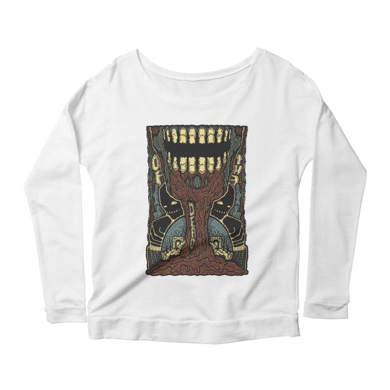 Of The Dead Women's Scoop Neck Longsleeve T-Shirt by Tralilulelo