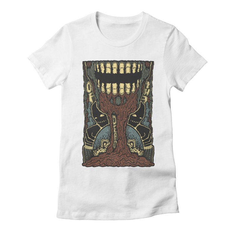 Of The Dead Women's Fitted T-Shirt by Tralilulelo