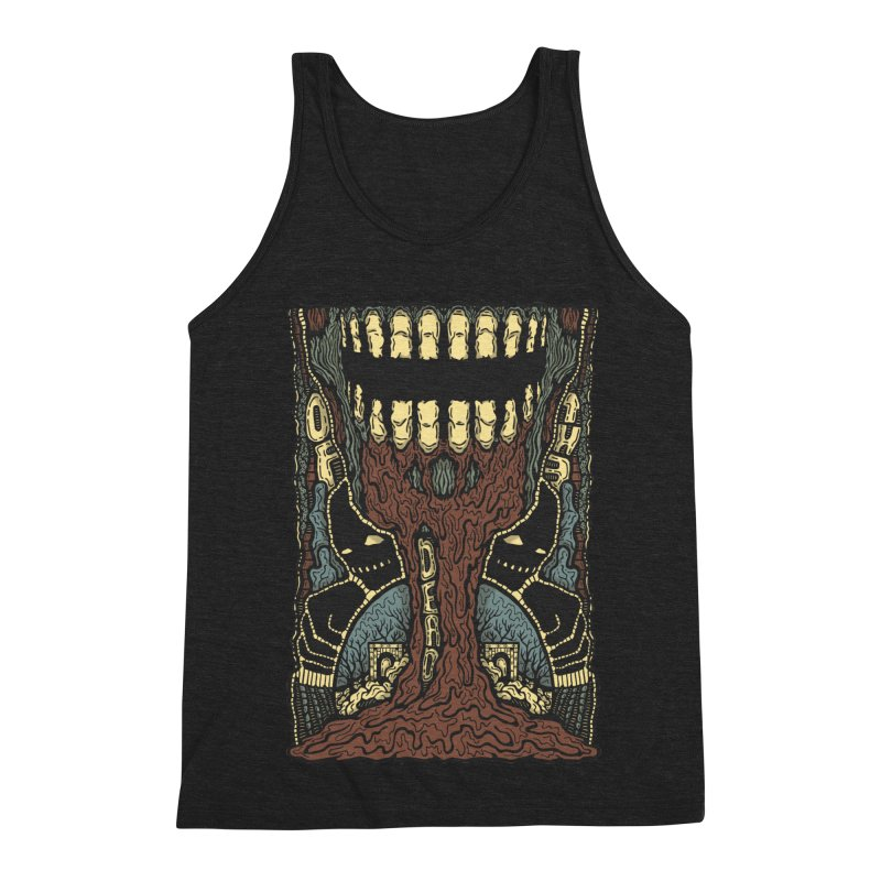 Of The Dead Men's Triblend Tank by Tralilulelo
