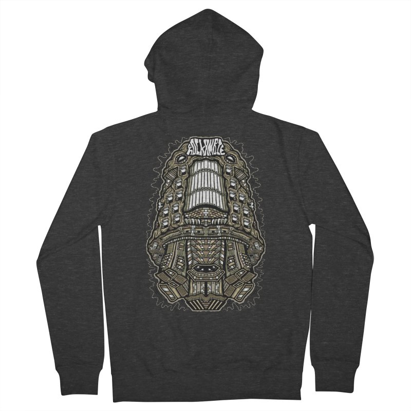 Rockambie Men's French Terry Zip-Up Hoody by Tralilulelo