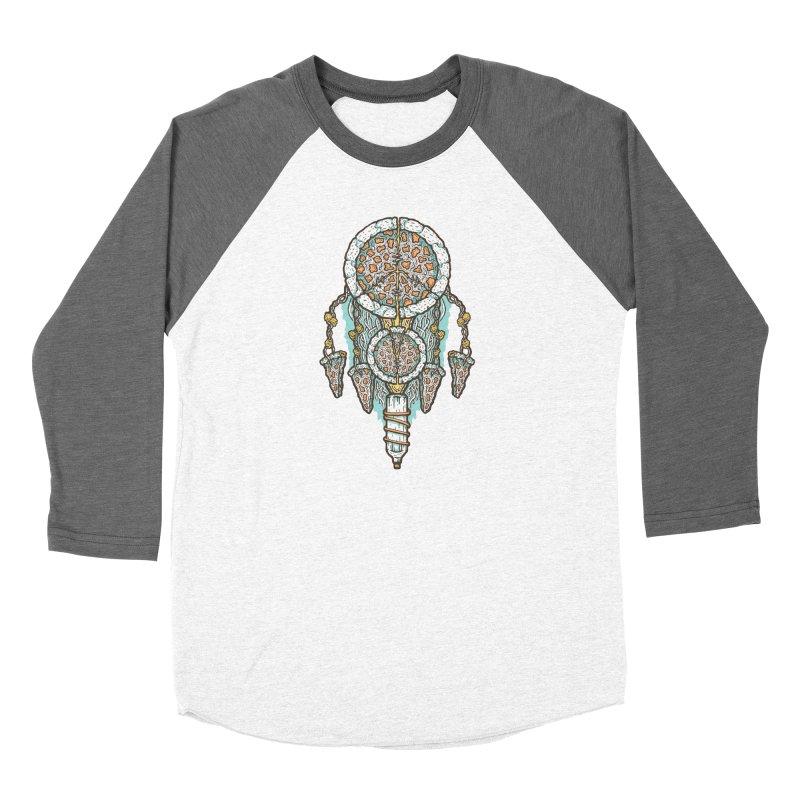 Dream of a Pizza Catcher Women's Baseball Triblend Longsleeve T-Shirt by Tralilulelo