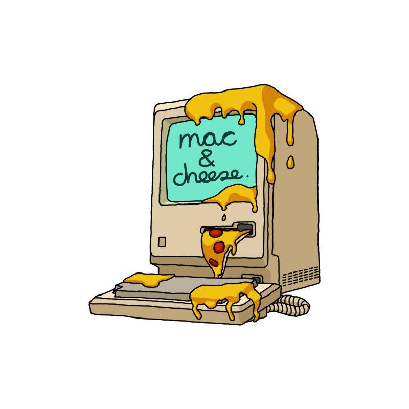 mac & cheese. Men's T-Shirt by Transbian Alliance