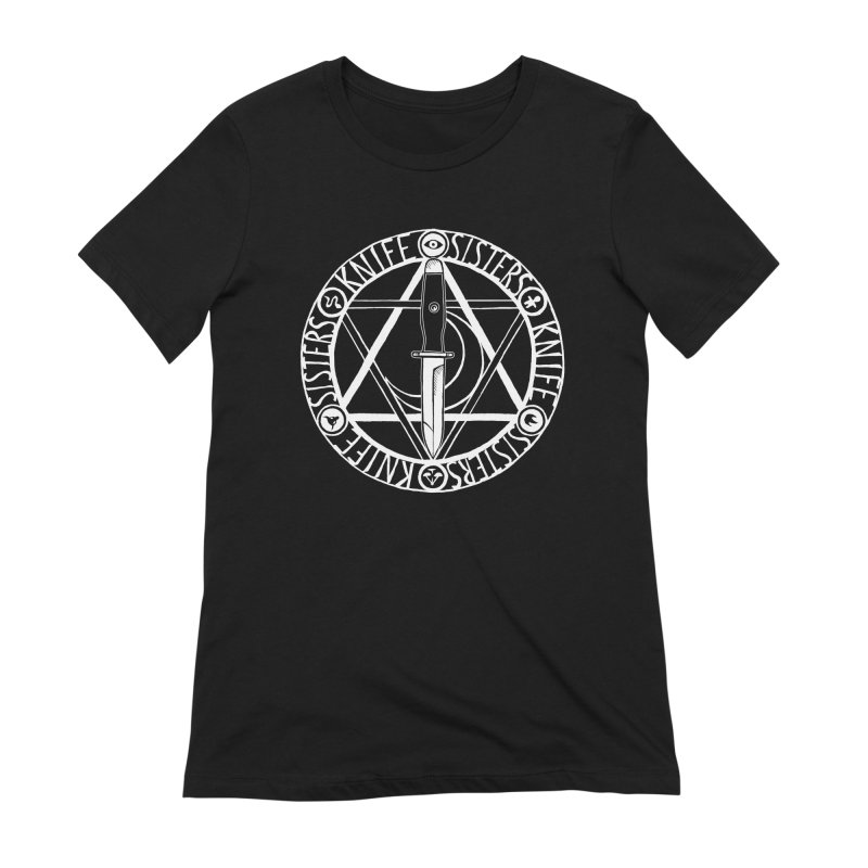 Knife Sisters Logo Women's Extra Soft T-Shirt by Transcenders