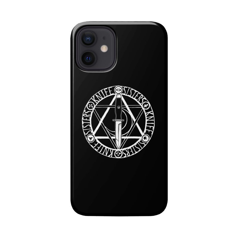 Knife Sisters Logo Accessories Phone Case by Transcenders