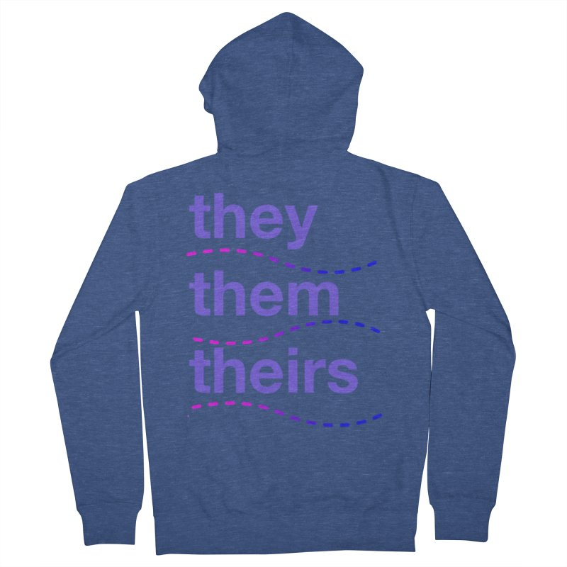 TCH they swag Women's French Terry Zip-Up Hoody by Transchance Health's Artist Shop