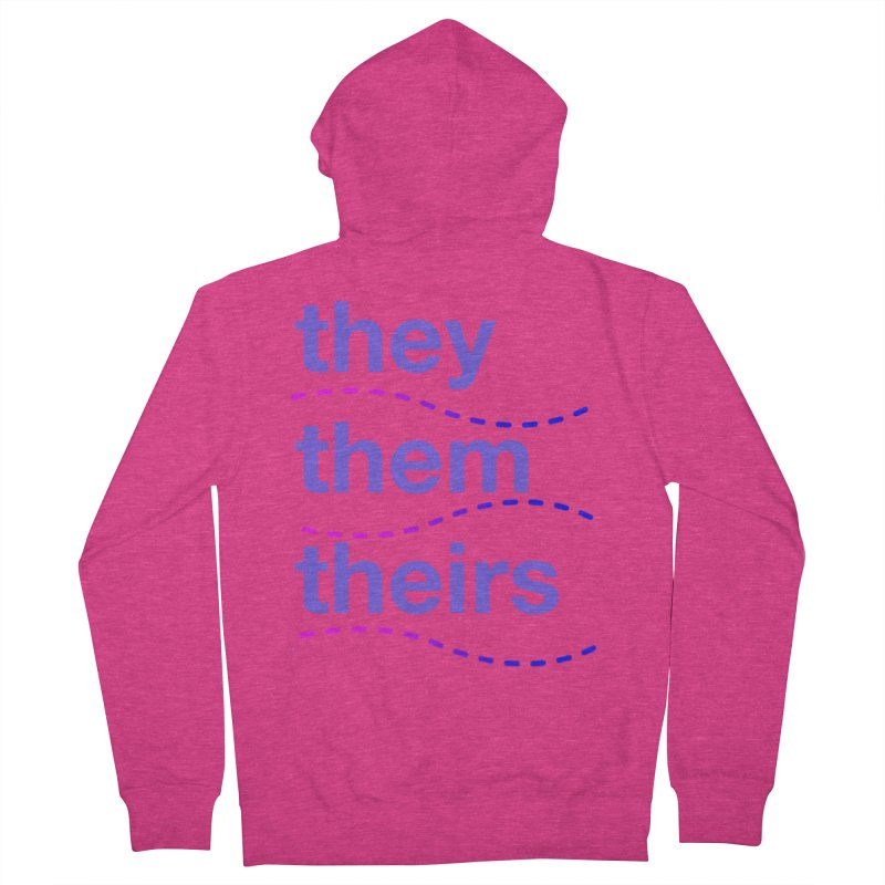 TCH they swag Women's French Terry Zip-Up Hoody by transchancehealth's Artist Shop