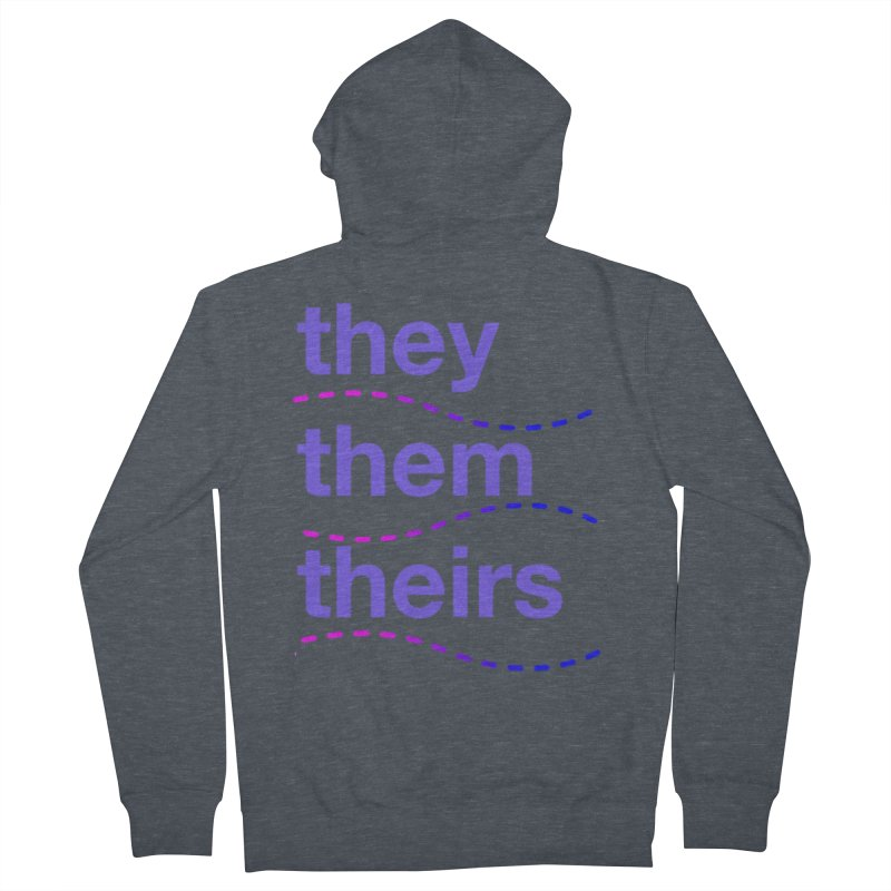 TCH they swag Men's French Terry Zip-Up Hoody by transchancehealth's Artist Shop