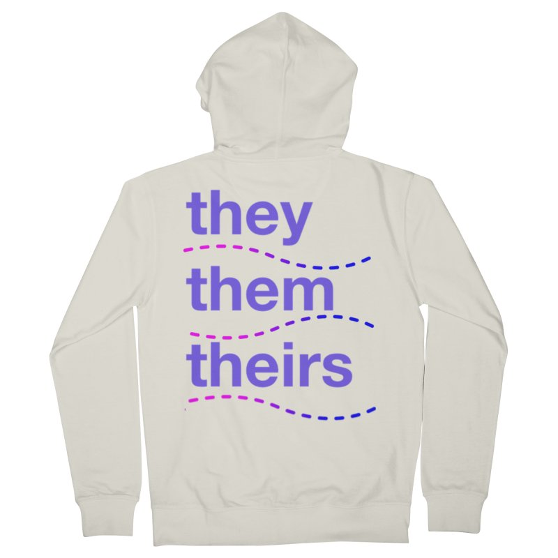 TCH they swag Men's French Terry Zip-Up Hoody by Transchance Health's Artist Shop