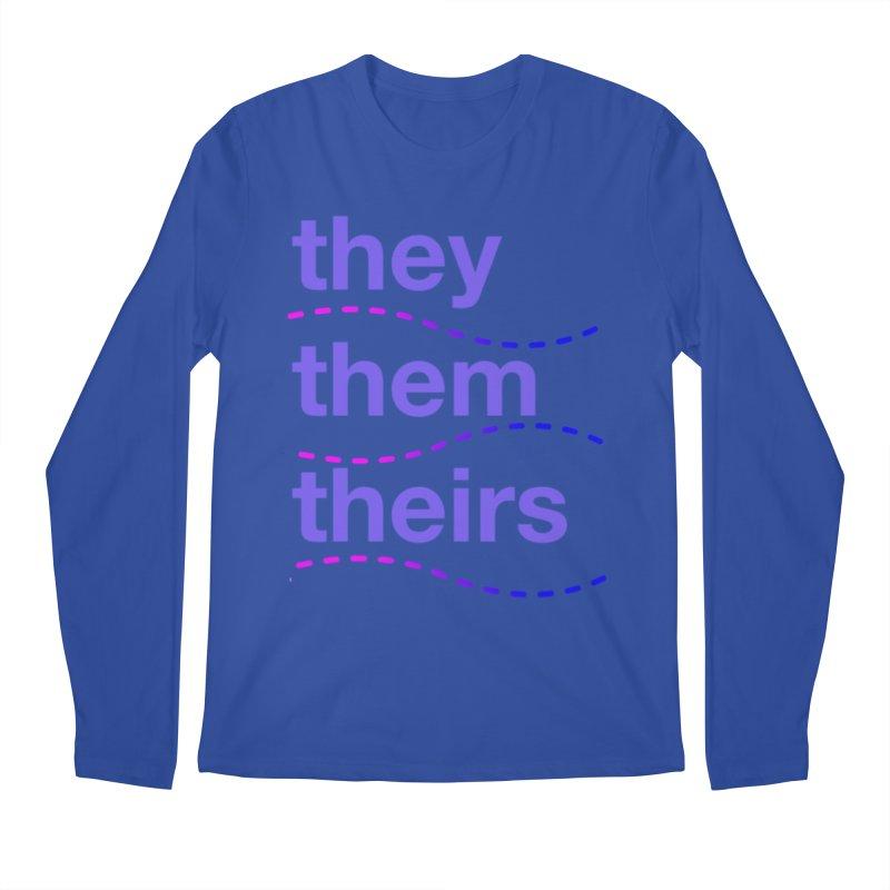 TCH they swag Men's Regular Longsleeve T-Shirt by Transchance Health's Artist Shop
