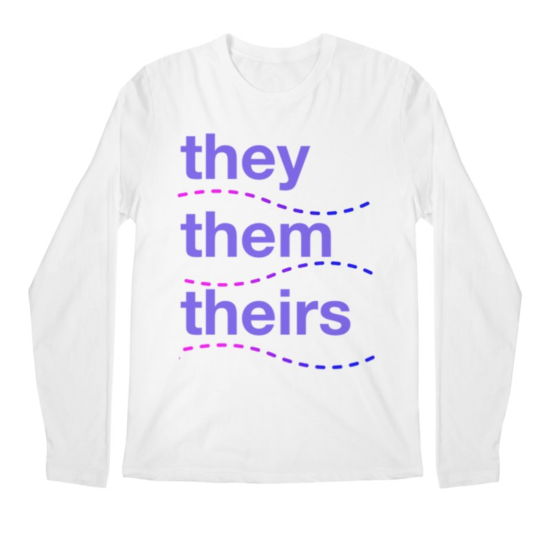 TCH they swag Men's Regular Longsleeve T-Shirt by transchancehealth's Artist Shop