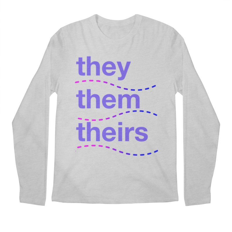 TCH they swag Men's Regular Longsleeve T-Shirt by Transchance Health's Artist Shop
