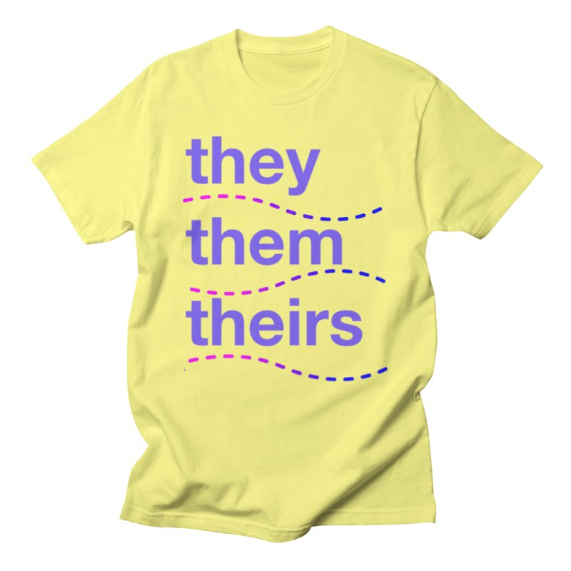 TCH they swag Men's T-Shirt by Transchance Health's Artist Shop