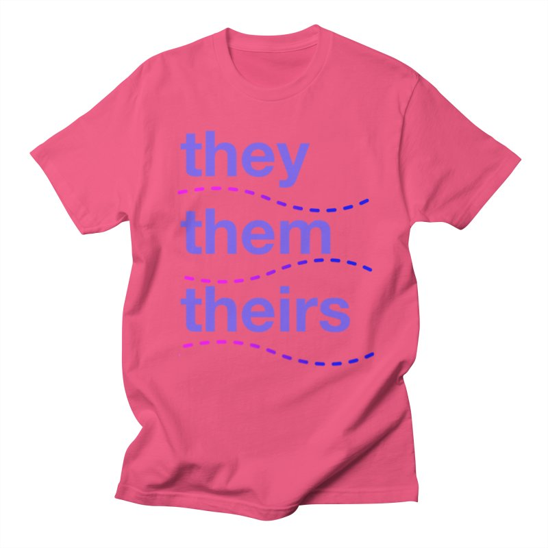 TCH they swag Women's Regular Unisex T-Shirt by transchancehealth's Artist Shop