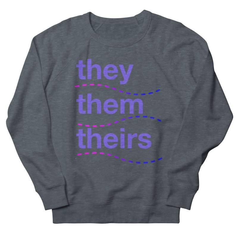 TCH they swag Men's French Terry Sweatshirt by Transchance Health's Artist Shop