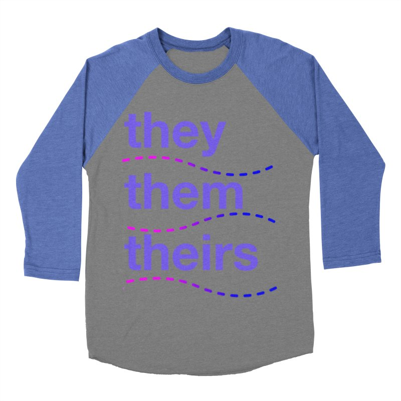 TCH they swag Men's Baseball Triblend Longsleeve T-Shirt by transchancehealth's Artist Shop