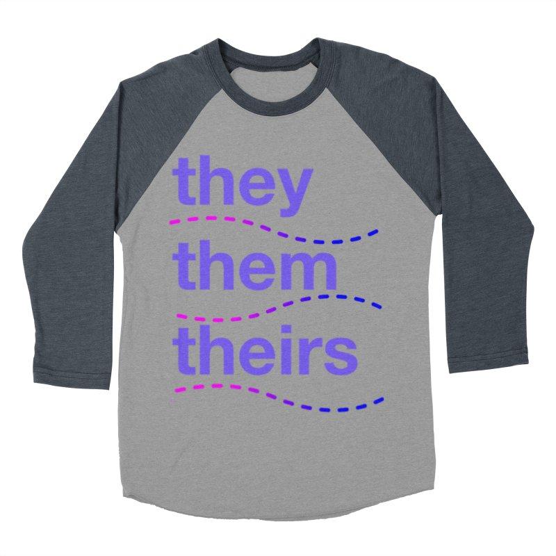 TCH they swag Men's Baseball Triblend Longsleeve T-Shirt by Transchance Health's Artist Shop